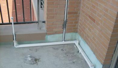 陽臺排水管安裝設計 陽臺排水管安裝圖