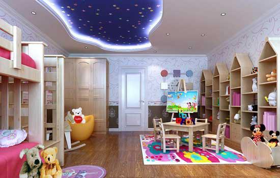 兒童房裝修設計怎么做才能環保健康