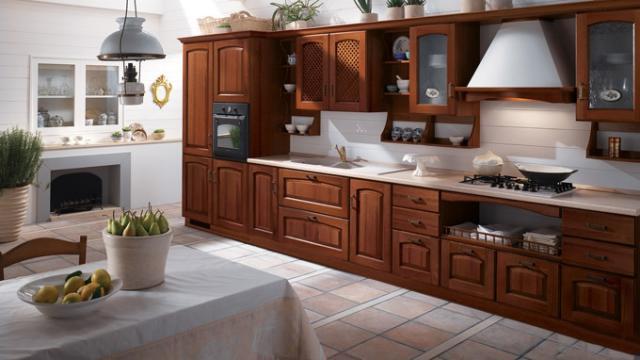 奢华欧式风厨房这样设计——15个欧式风格橱柜搭配原创