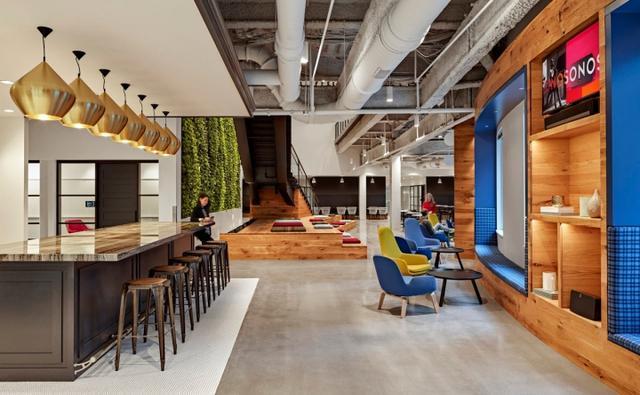 Sonos公司波士顿办事处办公室装修效果图案例