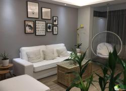 绵阳85平米两室一厅装修海润广场北欧风格设计