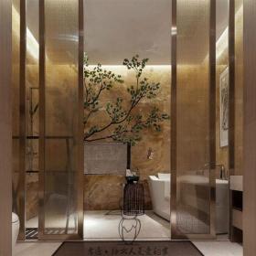 2019高檔賓館浴室圖片