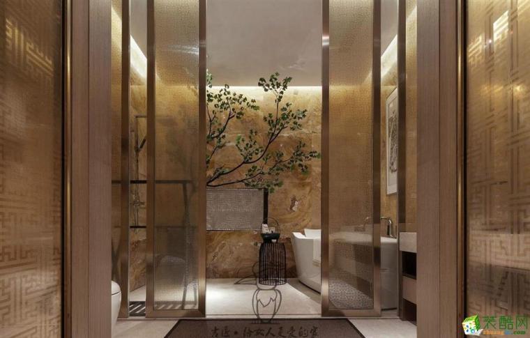 2019高档宾馆浴室图片