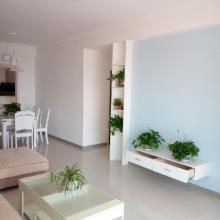 簡陽87平米三居室簡約全包裝修