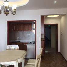 资阳凯旋国际104平米欧式三居室装修设计