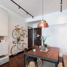 天津两室89平米LOFT风格装修案例