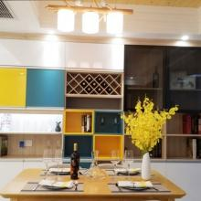 天津瞰海轩二居室96平米简约半包3万装修案例