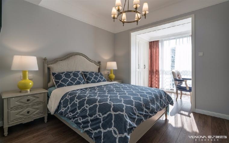 成都天鹅湖280平米四居室美式风格半包装修 图5