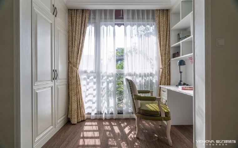 成都天鹅湖280平米四居室美式风格半包装修 图10
