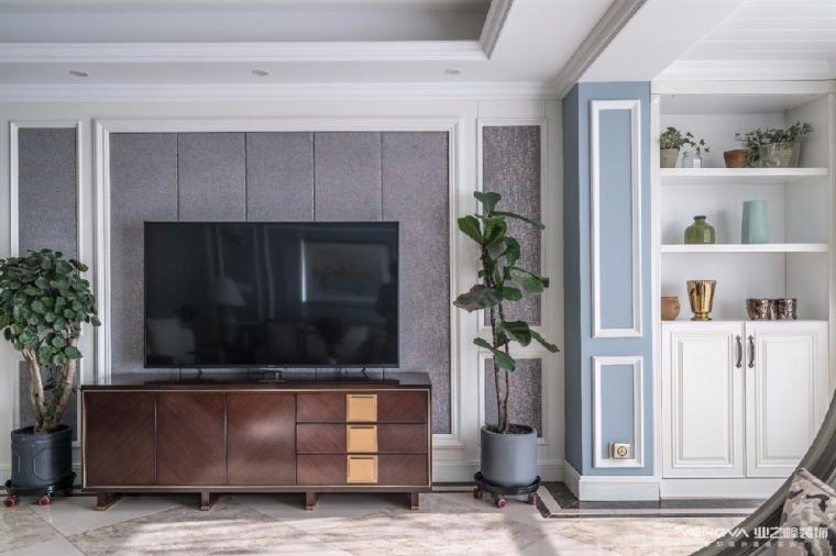 成都天鹅湖280平米四居室美式风格半包装修 图9