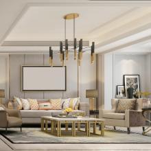 幸福里140方新中式风格家居