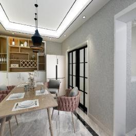香江豪庭110方現代風格4室兩廳