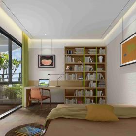 臥室書房一體設計圖
