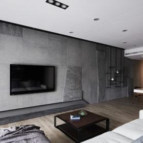 電視背墻效果圖客廳簡約