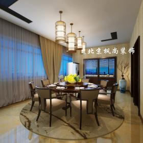 新中式餐廳吊燈裝修圖片