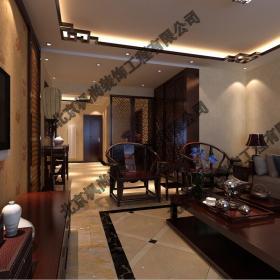 新中式客廳吊頂茶幾沙發裝修圖片
