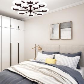 2021現代風格臥室吊燈裝修效果圖