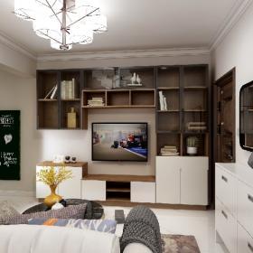 2021現代風格小戶型客廳裝修圖片