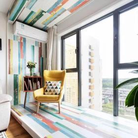 地中海風格飄窗設計圖片