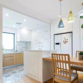 2021地中海風格開放式廚房裝修圖片