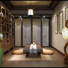 中式風格會客廳裝修圖片2021