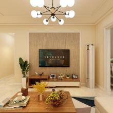 【盛世豪庭】82㎡現代簡約三居裝修案例