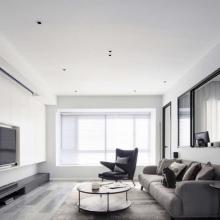 【云頂御峰】120㎡現代簡約三居裝修案例