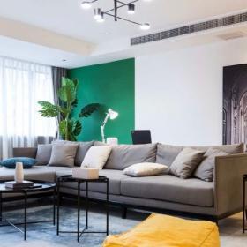 現代簡約客廳沙發背景墻
