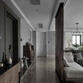 簡約風格客廳隔斷設計