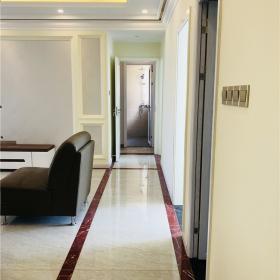 簡歐風格客廳過道裝修效果圖