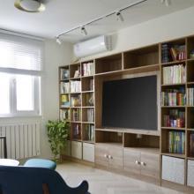 【華凌公館】110㎡現代簡約三居裝修案例