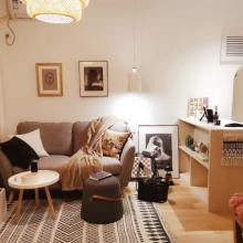 【萬科金域】90㎡現代簡約三居裝修案例
