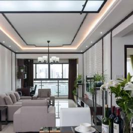 【上品公寓】110㎡中式現代三居裝修案例