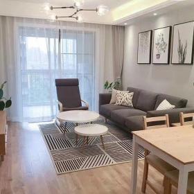 小戶型客廳簡約風格裝修圖片2021