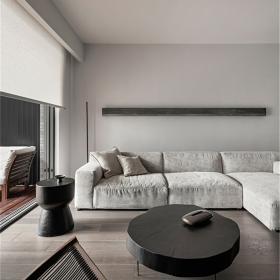 簡約風格客廳沙發裝修圖片2021