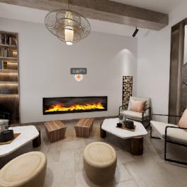 【保利養生谷】425㎡中式現代別墅豪宅裝修案例
