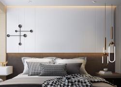 【金域央墅】128平米現代三居室裝修全包15.8萬