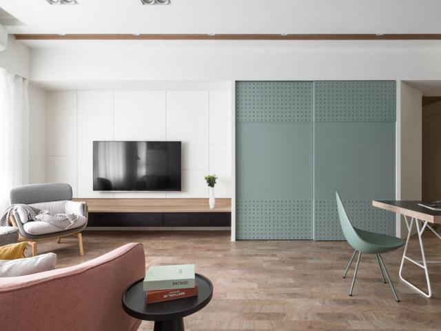成都客廳設計公司,家庭客廳背景墻裝修設計,成都家庭客廳設計