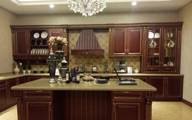 美式风格厨房