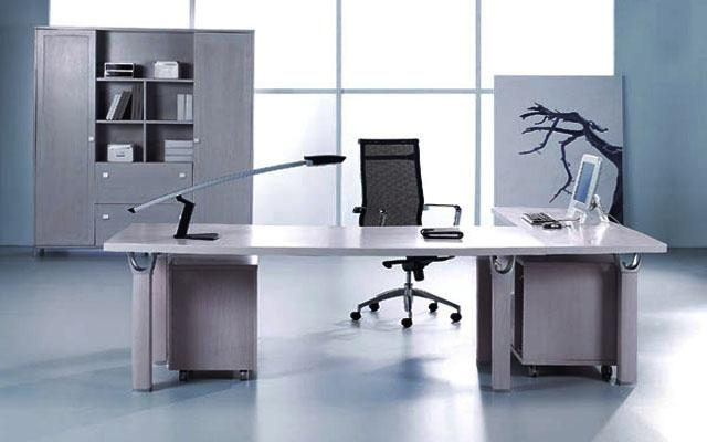 现代办公桌图片