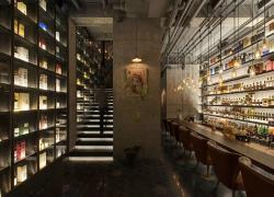 杭州Mill7酒吧效果图案例