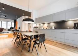 現代公寓室內家居布置圖片