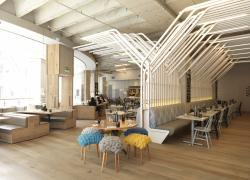 Zizzi餐廳設計效果圖途案例