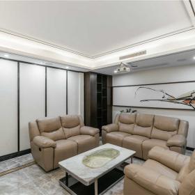 新中式室內沙發效果圖