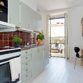 簡約歐式廚房設計