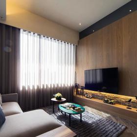 现代风两居室客厅设计