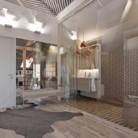 50平閣樓衛生間設計圖片