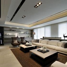109平簡約時尚客廳設計