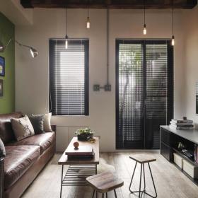 92平清新現代風客廳設計