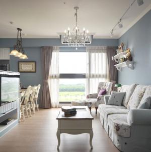 小戶型現代公寓客廳效果圖